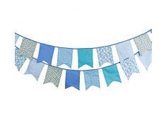 3.5M Schöne Wimpel Girlande 12 Süße Bunting Wimpelkette Farbenfroh Wimpeln für Draußen