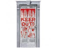 Halloween Folie blutende Tür
