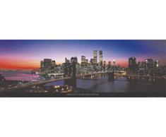 James Blakeway - Brooklin Bridge, New York Kunstdruck