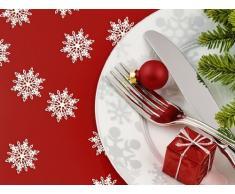 Konfetti Streudeko für Weihnachten : Schneeflocken - Tüte mit 20 Stück
