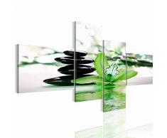 Bilder 200 x 100 cm - Lilie Bild - Vlies Leinwand - Kunstdrucke -Wandbild - XXL Format – mehrere Farben und Größen im Shop - Fertig Aufgespannt !!! 100% MADE IN GERMANY !!! - Blume – Stein – Feng Shui 204241c