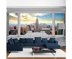 Vlies Fototapete 300x210 cm ! Top Tapete ! Wandbilder XXL Wandbild Bild Fototapeten Tapeten Wandtapete Wanddeko Wand City New York Architektur 10110904-35