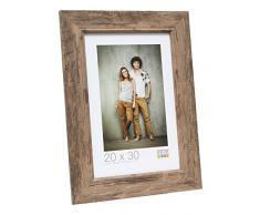Deknudt Frames S48SH3 Bilderrahmen, Holz, 10 x 15 cm, Braun