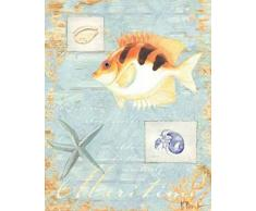 Paul Brent - Maritime Kunstdruck (20,32 x 25,40 cm)