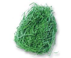Dekogras aus Papier, Ostergras, 30g, grün (1 Stück)