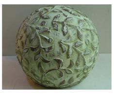 Deko- Kugel aus Keramik D18cm Gartendekoration Außendeko Geschenk