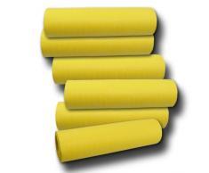Unbekannt Luftschlangen gelb 6er-Set