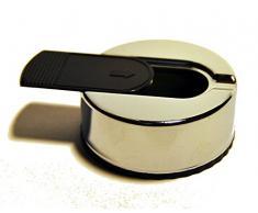 Taschenaschenbecher Aschenbecher mini mit gratis FEUERZEUG, Chrom Silber mit Schieber