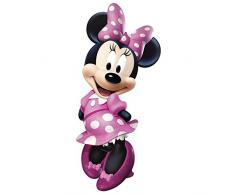 RoomMates RMK2008GM RM - Disney Minnie Maus Wandtattoo, PVC, bunt, 48 x 13 x 2.5 cm