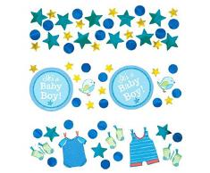 Amscan 341491 Value Confetti Konfetti Boy Shower With Love, plastik, mehrfarbig
