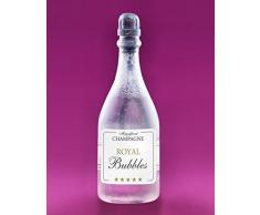 24 Seifenblasen, Champagner Flaschen mit Seifenblasenflüssigkeit gefüllt, Soap Bubbles, für Verlobung, Hochzeit, Geburtstag, Jubiläum