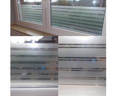 Milchglas Folie Struktur 122cm breit 8,19€/m² Fenster Folie Selbstklebend (1m x 122cm breit)