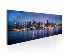 murando - Bilder 135x45cm Vlies Leinwandbild 1 TLG Kunstdruck modern Wandbilder XXL Wanddekoration Design Wand Bild - New York Stadt City NY d-B-0179-b-a