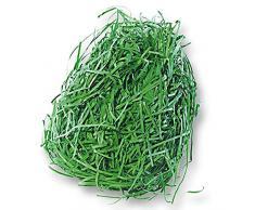 Dekogras aus Papier, 30 g, Grün