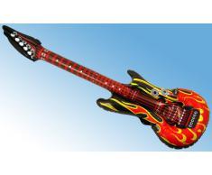 Flammen-Design Rock Aufblasbare Rock-Gitarren-106cm