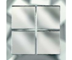 MosaixPro 10Â x 10Â x 3Â mm 200Â g 302-piece Spiegel Fliesen, Silber