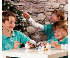 Your Design Keramik-Weihnachtskugeln zum Selbstbemalen
