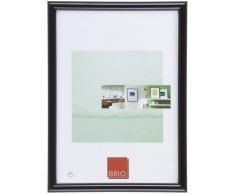 Brio Bilderrahmen, Plastik, schwarz, 10 x 15 cm