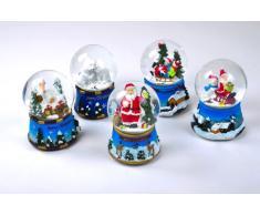 Weihnachts Schneekugel verschiedene Motive (weihnachtliches Haus)