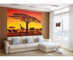 Wandtattoo afrika g nstige wandtattoos afrika bei for Poster wanddurchbruch