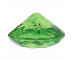 NEU Tischkartenhalter Diamant grün, 4x2 cm, 4 Stk.