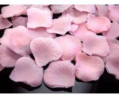 500 Rosenblätter aus Stoff rosa Hochzeit Streublumen Blumenkinder Rosenblüten Tischdeko