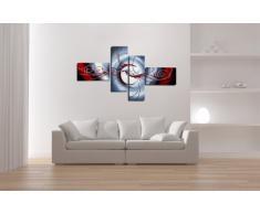 Visario Leinwandbilder 6516 Bild XXL, 160 cm auf Leinwand Modern (handgemalt optik)