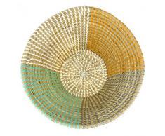 Korbschale Segments aus Seegras - Fair Trade