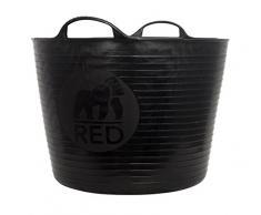Decco Ltd Tubtrug Gartenkorb, flexibel, groß, 38l schwarz