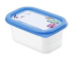 Rotho Domino Art 4er Set Vorratsdosen, Kunststoff (BPA-frei), 4 x 0.2 Liter (11,7 x 7,5 x 5,5 cm)