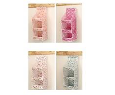 Demarkt Hängeorganizer Hängeaufbewahrung Hängende Kombination Hängende Tasche Ordnungssysteme an der Wand 20x62cm Grün