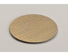 Deko-Schale FRUITTY rund Ø 33 cm, Obstschale aus Bambus und Kunststoff