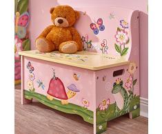 Fantasy Fields Magic Garden Kinder Holz Sitzbank Stauraum Spielzeug TD-11644A