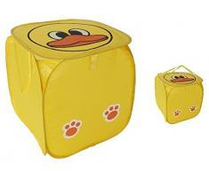 Ordnungshelfer Faltbox Ente gelb Wäschebox Kinderzimmer Plüschtiere Spielzeug