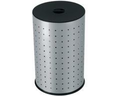 Hailo Wäsche-Behälter Comfort silber 43 Liter