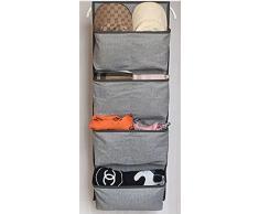 Kreative Mode Grau Wand hängenden Beutel 7 Tasche Tür zurück Hängeorganizer 33X91CM