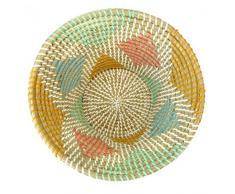 Korbschale Rohmbs aus Seegras - tief - Fair Trade
