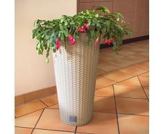Prosperplast Blumentopf, Beige (mocca), 40x73,6 cm, DRTUS400-7529U