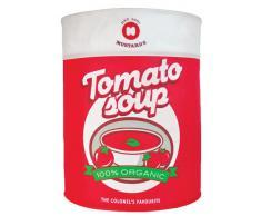 Wäschetonne Tomatensuppe