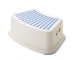 Duschhocker Badhocker Kinder-Badehocker Multifunktionale Baby-Tritthocker Toilettenhocker Haushalt-Toilettenhocker Kunststoff-Wäschehocker Babyhocker Bad Rutschfeste Bankhocker Fußhocker ( Farbe : A )