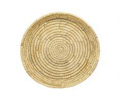 ASK Korbschale Geflochten rund Natur Palmblatt Fair Trade (Ø 30 cm)