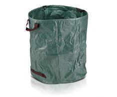 Oramics Gartensack Laubsack – 272 Liter 67 x 75 cm – Gartenabfallsack aus wasserabweisendem Polypropylen mit 4 Griffen zum einfachen Transportieren und Entleeren (1 Stück)