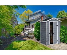 Keter Gerätehaus Manor 4x3, Grau, 1,8m³