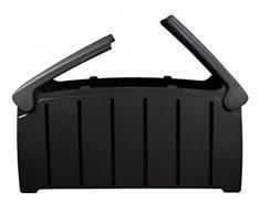 Koll Living Kissenbox/Auflagenbox mit 300 Liter Fassungsvermögen - wasserfester Stauraum für Sitzauflagen, Kinderspielzeug - Komplett wasserdicht !