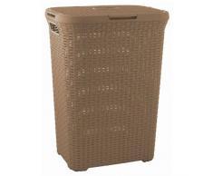 CURVER Wäschebox Style, 40 L, braun