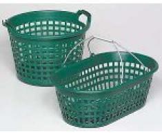 PANICK 1313802 Gartenkorb 25 kg rund grün