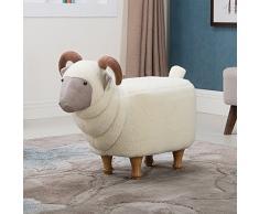 Hocker/ hocker /kreative, ziege, schuhe ändern, massivholz, abnehmbare wäsche / designer-möbel-Weiß