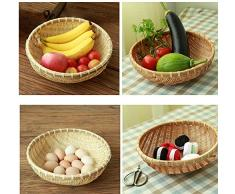 Wohnzimmer Snacks Kleine Obst Platte Melon Samen Schale Korb
