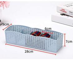Angela 4-teilig Multifunktions-Kunststoff Multi-Grid Aufbewahrungsbox Kleiderschrank Schminktisch Schubladenkorb - Geeignet für Krawatten-Socken Unterwäsche Kosmetik
