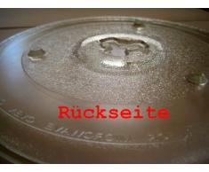 Mikrowelle Drehteller UNI DU = 270 mm / 27 cm / Mikrowellenteller / Glasteller für Mikrowelle / Ersatzteller / Ersatz-Drehteller